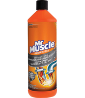 ŻEL DO UDRAŻNIANIA RUR MR MUSCLE 1000ML
