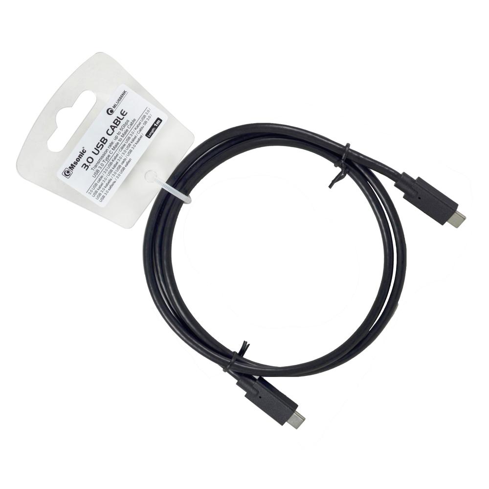 KABEL USB 3.1 TYPE C TO USB AM MSONIC MLU668K