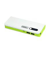 POWERBANK 13000 MAH BIAŁO-ZIELONY MSONIC MY2590WE