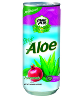 MY ALOE GRANAT 240ML