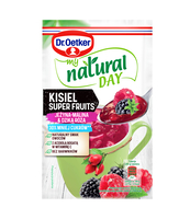 MY NATURAL DAY KISIEL SUPER FRUITS O SMAKU JEŻYNA-MALINA-DZIKA RÓŻA 28G