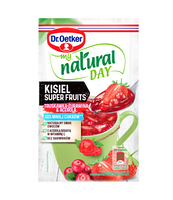MY NATURAL DAY KISIEL SUPER FRUITS O SMAKU TRUSKAWKA-ŻURAWINA-ACEROLA 28G