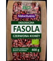 NATURAVENA EKOLOGICZNA FASOLA CZERWONA KIDNEY 400G