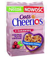 CHEERIOS OATS CRANBERRY 350G