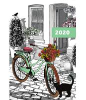 KALENDARZ 2020 NARCISSUS A5 DZIENNY SUMMERDAY
