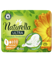 NATURELLA ULTRA NORMAL CALENDULA TENDERNESS PODPASKI 10 SZTUK