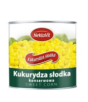 KUKURYDZA SŁODKA KONSERWOWA 400G NEKTAVIT