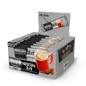 NESCAFÉ 2IN1 COFFEE & CREAMER ROZPUSZCZALNY NAPÓJ KAWOWY 28 X 8G