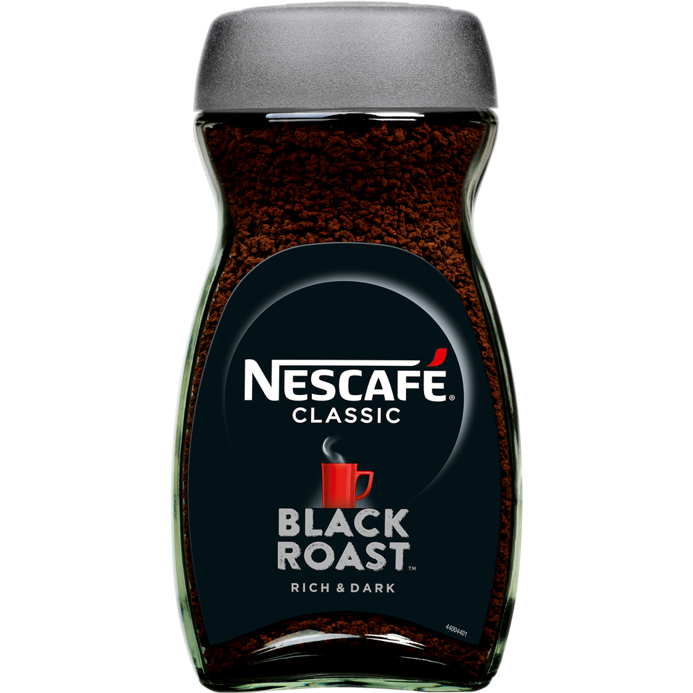 NESCAFÉ CLASSIC BLACK ROAST KAWA ROZPUSZCZALNA 200G