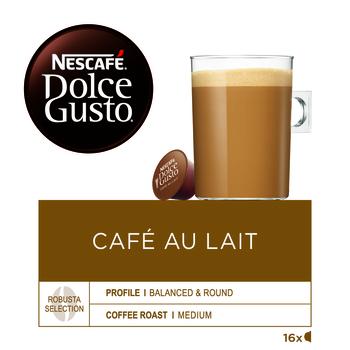 NESCAFÉ DOLCE GUSTO CAFÉ AU LAIT KAWA W KAPSUŁKACH 160G