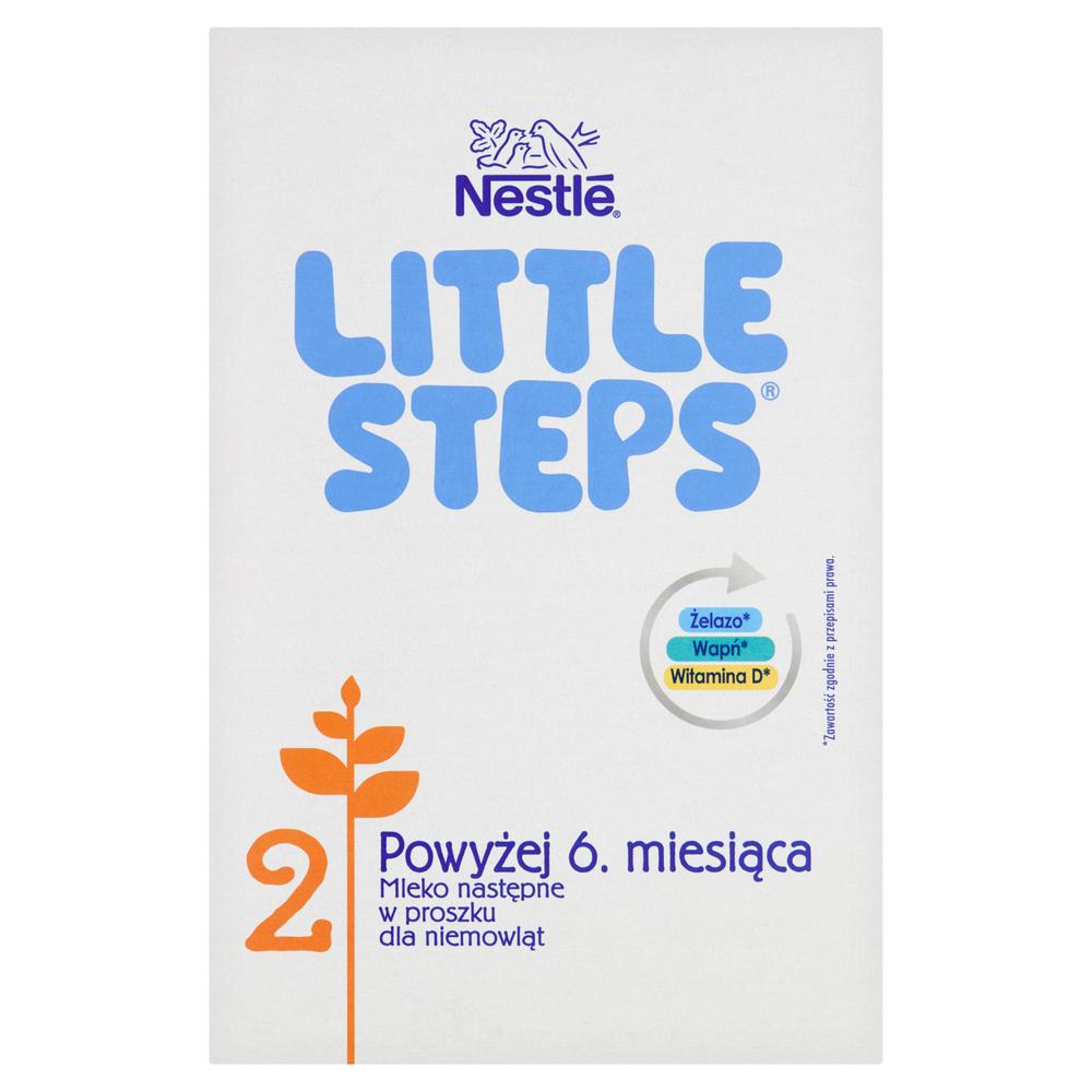 NESTLE LITTLE STEPS 2 MLEKO NASTĘPNE PO 6. MIESIĄCU 600 G