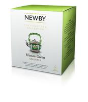 HERBATA NEWBY HUNAN GREEN - HERBATA ZIELONA W PIRAMIDKACH 15 SZT 37,5 GRAMA