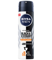 ANTYPERSPIRANT NIVEA MEN BLACK&WHITE INVISIBLE ULTIMATE IMPACT SPRAY 150ML