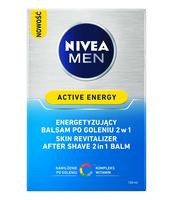 NIVEA ENERGETYZUJĄCY BALSAM PO GOLENIU 2W1 ACTIVE ENERGY 100 ML