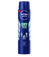 NIVEA ANTYPERSPIRANT DRY FRESH SPRAY 250 ML