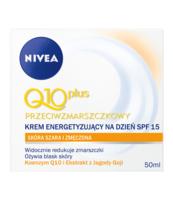 NIVEA Q10 PLUS ENERGETYZUJĄCY KREM PRZECIWZMARSZCZKOWY NA DZIEŃ 50 ML