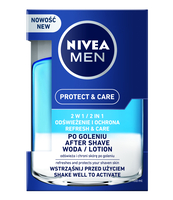 NIVEA WODA PO GOLENIU PROTECT & CARE 2W1 100 ML