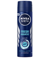 NIVEA FRESH AQUATIC ANTYPERSPIRANT SPRAY 150 ML