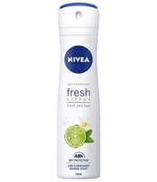 NIVEA FRESH CITRUS ANTYPERSPIRANT SPRAY 150 ML