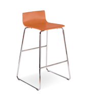 CAFE VII HOCKER CHROME ORANGE