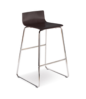 CAFE VII HOCKER CHROME WENGE
