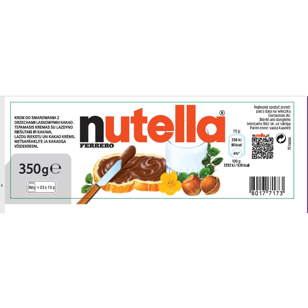 KREM DO SMAROWANIA NUTELLA 350G