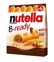 NUTELLA B-READY, WAFELEK Z KREMEM, 6SZT, 132G