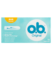O.B. ORIGINAL NORMAL 16 SZT. (5+1 GRATIS)