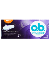 O.B. PROCOMFORT NIGHT SUPER 16 SZT. (5+1 GRATIS)