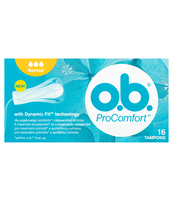 O.B. PROCOMFORT NORMAL 16 SZT. (5+1 GRATIS)