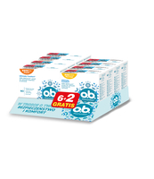 O.B. PROCOMFORT NORMAL 8 SZT. (6+2 GRATIS)