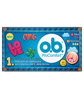O.B. TEENS PROCOMFORT MINI 8 + PROCOMFORT NORMAL 8