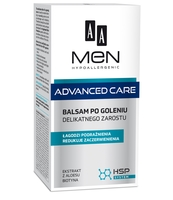 AA MEN ADVANCED CARE BALSAM PO GOLENIU DELIKATNEGO ZAROSTU, 100 ML