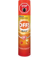 REPELENT PRZECIW KOMAROM OFF! MAX AEROSOL 100 ML