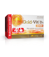 GOLD-VIT D3 2000 120 TABLETEK OLIMP LABS