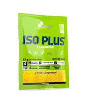 ISO PLUS+L-CARNITINE CYTRYNA 35G SASZETKA PL