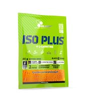 ISO PLUS+L-CARNITINE POMARAŃCZA 35G SASZETKA