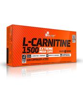 L-CARNITINE 1500 EXTREME MEGA CAPS 120 KAPSUŁEK OLIMP SPORT NUTRITION