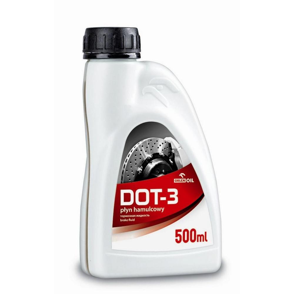 PŁYN HAMULCOWY ORLEN OIL DOT-3 B 0,5L