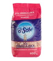 SÓL HIMALAJSKA GRUBOZIARNISTA JODOWANA 600 G O'SOLE