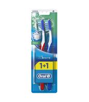 ORAL-B 3D SZCZOTECZKA DO ZĘBÓW WHITE FRESH 40 MED DUO PACK 1+1