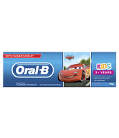 "ORAL-B KIDS ""AUTA"" PASTA DO ZĘBÓW 75 ML, 3+ LAT"
