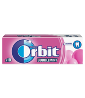 ORBIT BUBBLEMINT 10 DRAŻETEK/14G