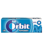ORBIT PEPPERMINT 10 DRAŻETEK/14G