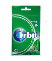 ORBIT SPEARMINT 25 DRAŻETEK/35G