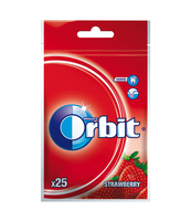 ORBIT STRAWBERRY 25 DRAŻETEK/35G