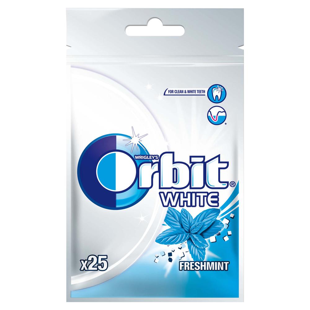 ORBIT WHITE FRESHMINT 25 DRAŻETEK/35G