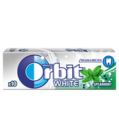 ORBIT WHITE SPEARMINT 10 DRAŻETEK/14G