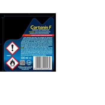PREPARAT ANTYKOROZYJNY CORTANIN F 500 ML