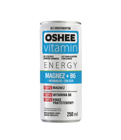 OSHEE VITAMIN ENERGY MAGNEZ+B6 250ML